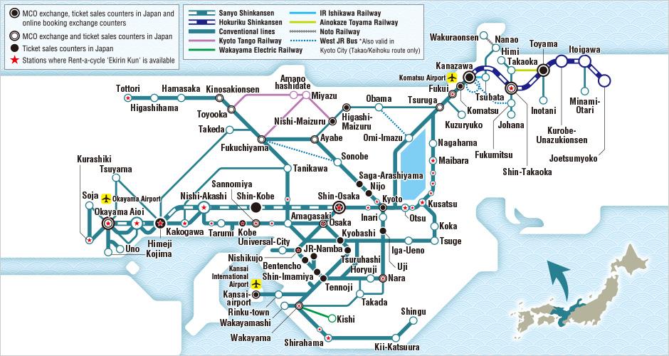 kansai-hokuriku-area-pass