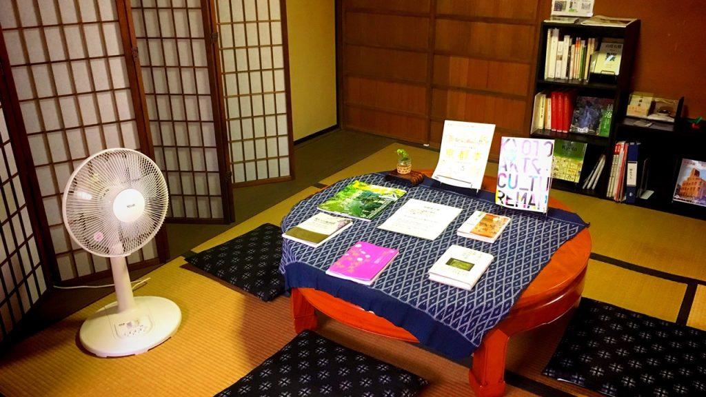 「無鄰菴」母屋の読書室
