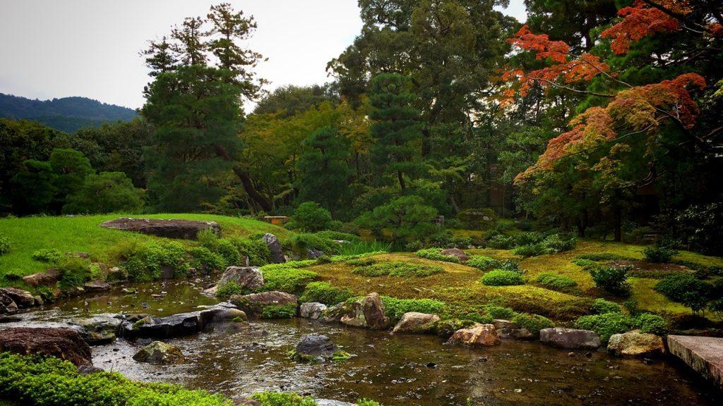 「無鄰菴の庭園」琵琶湖疎水を取り込んだ設計