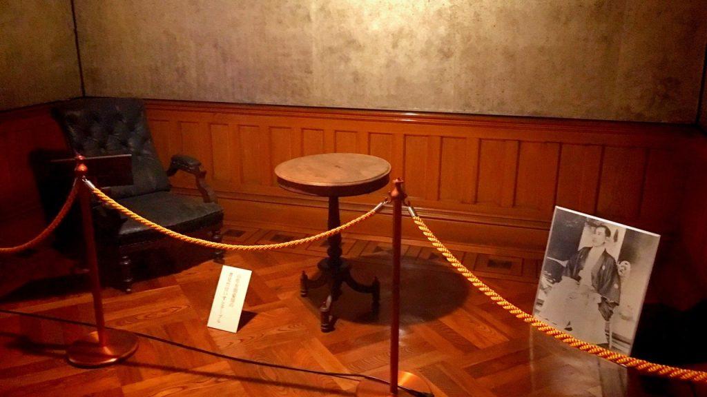 「無鄰菴」山県有朋が愛用した椅子と机