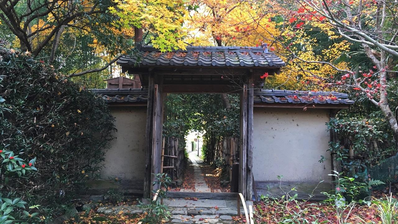 京都・嵐山の小さなお寺「厭離庵...