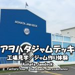 Highlights and how to get to the Aohata Jam Deck Factory Tour.
