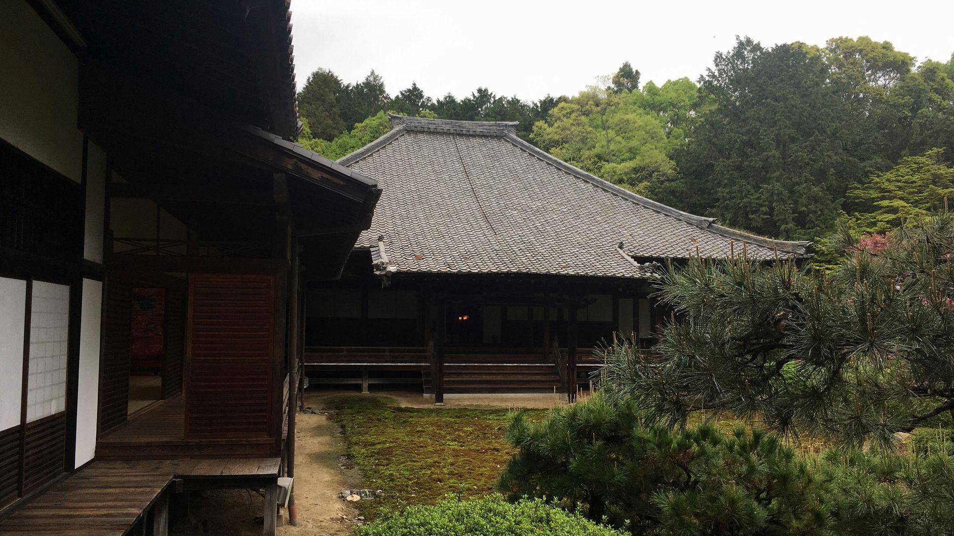 随心院の本堂