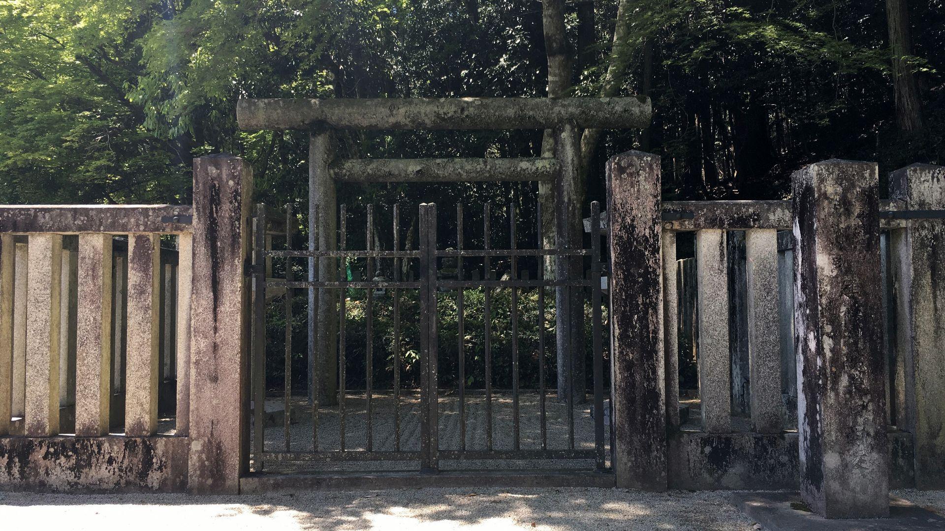 寂光院-建礼門院の墓所