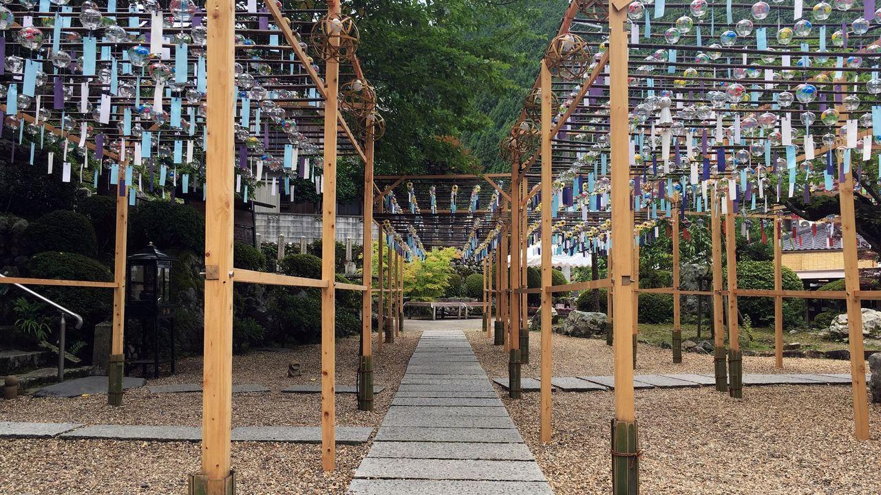 正寿院の風鈴祭り
