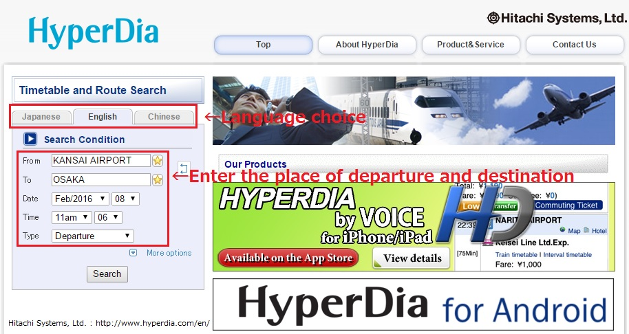 hyperdia