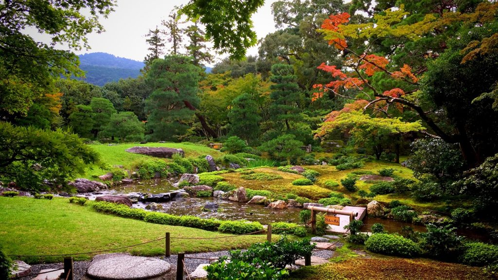 「無鄰菴」池泉回遊式の庭園
