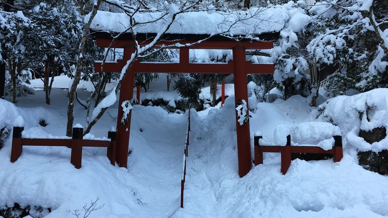 貴船神社の三の鳥居(Third torii gate of the Kifune-jinja Shrine)