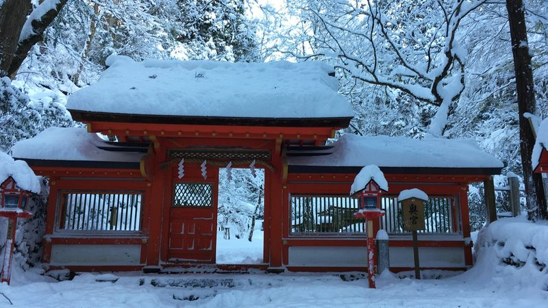 貴船神社の奥宮(Okumiya of the Kifune-jinja Shrine)