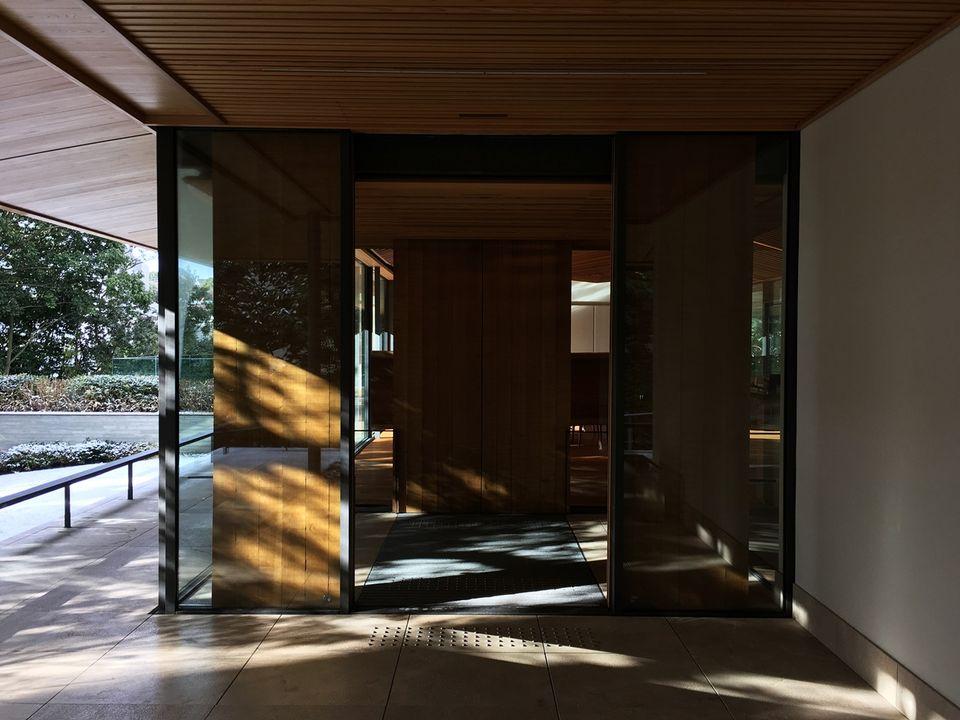 竹中大工道具館の外観(Takenaka Carpentry Tools Museum)