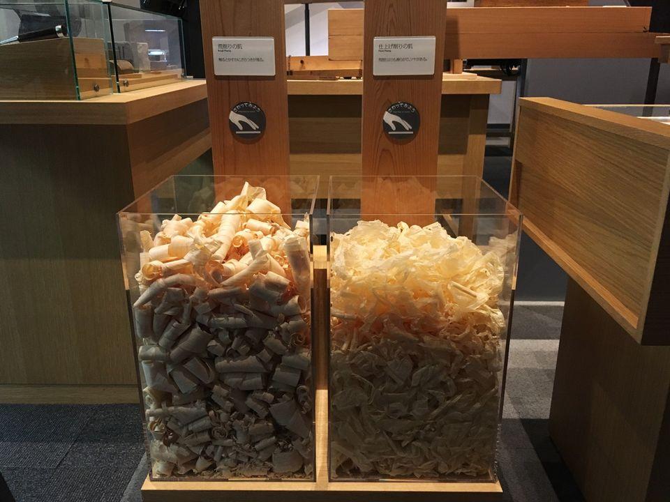 竹中大工道具館B1F展示スペース(Takenaka Carpentry Tools Museum)