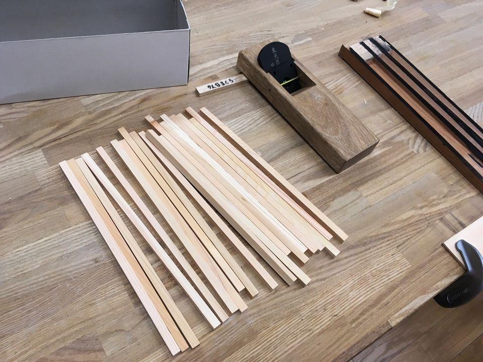 竹中大工道具館のお箸製作体験(Takenaka Carpentry Tools Museum)