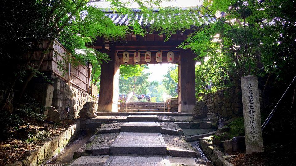 高台寺の山門
