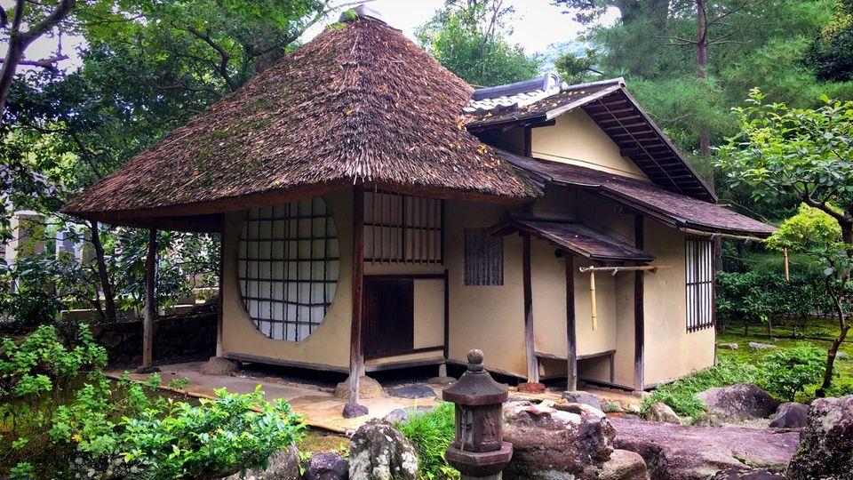 高台寺の遺芳庵