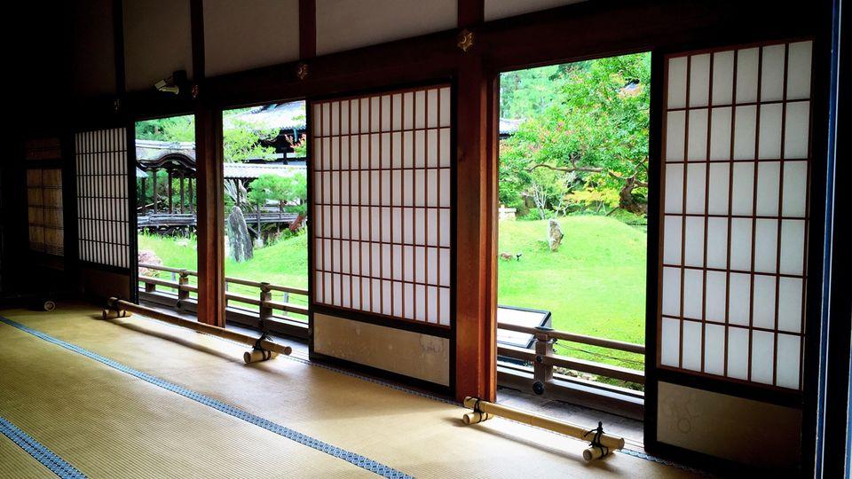 高台寺の方丈の内部