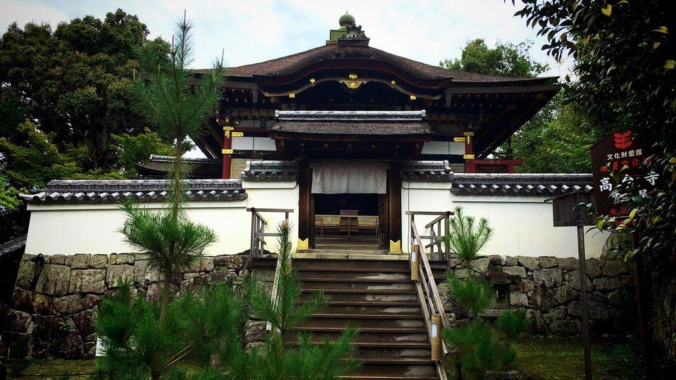 高台寺の霊屋