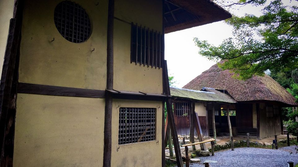 高台寺の傘亭と時雨亭