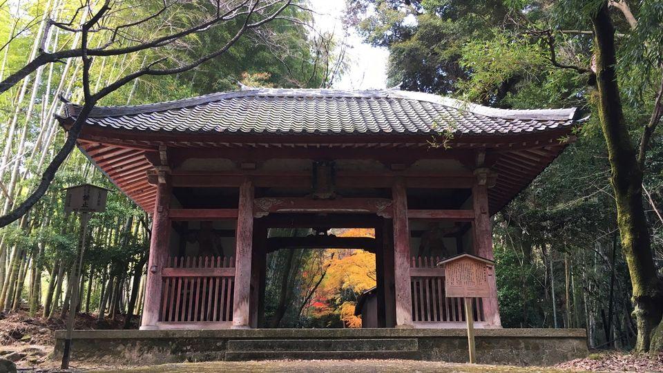 Nio-mon gate of Shoji-ji