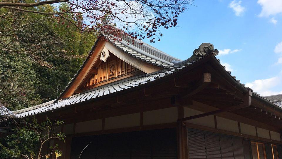 勝持寺の書院
