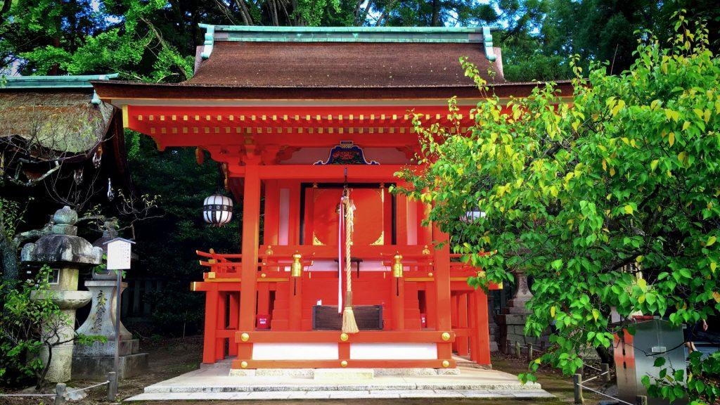 北野天満宮- 地主神社