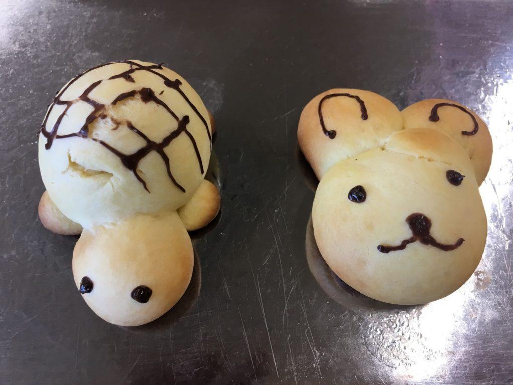 わくわくパン作り体験の生地成型4