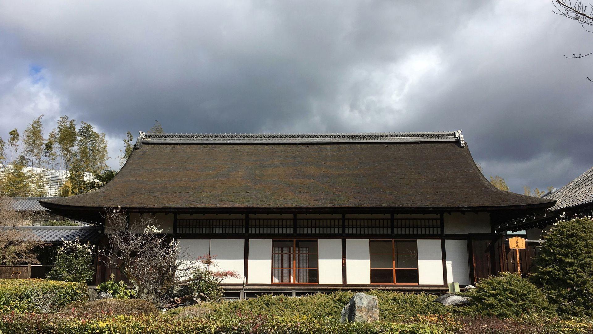 勧修寺の書院その1