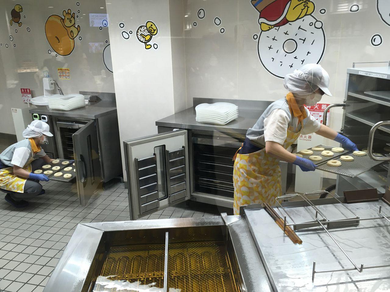 ドーナツ作り体験08