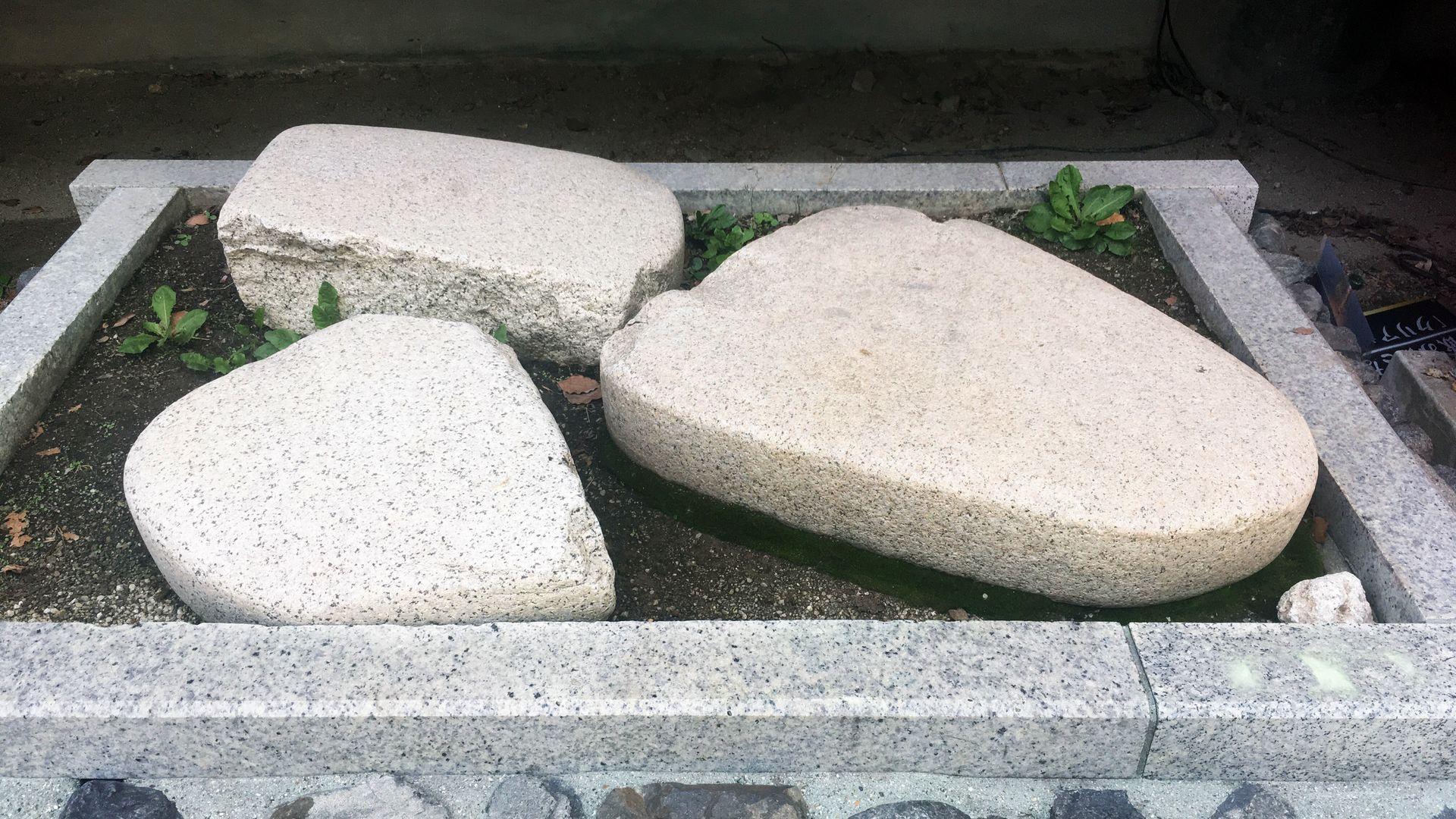 藤森神社のかへし石