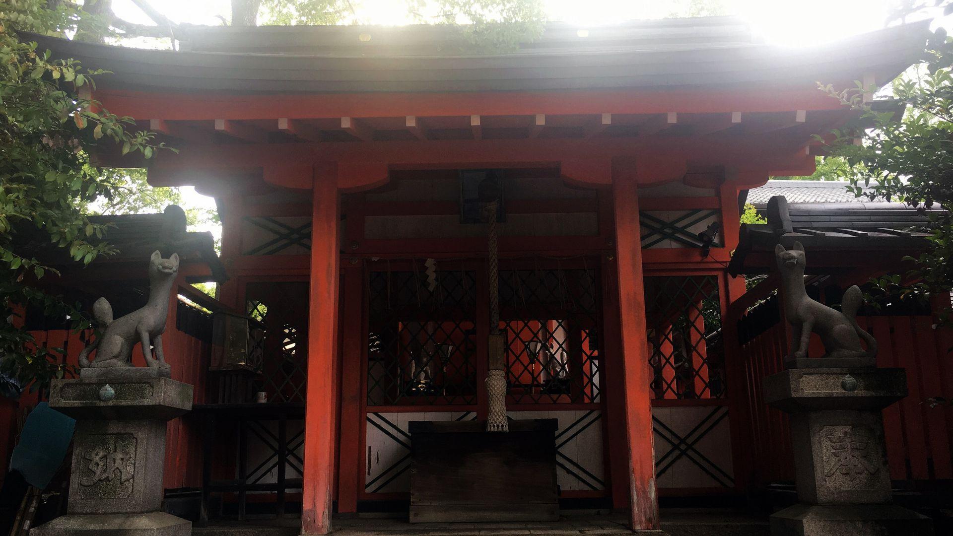 藤森神社の藤森稲荷社