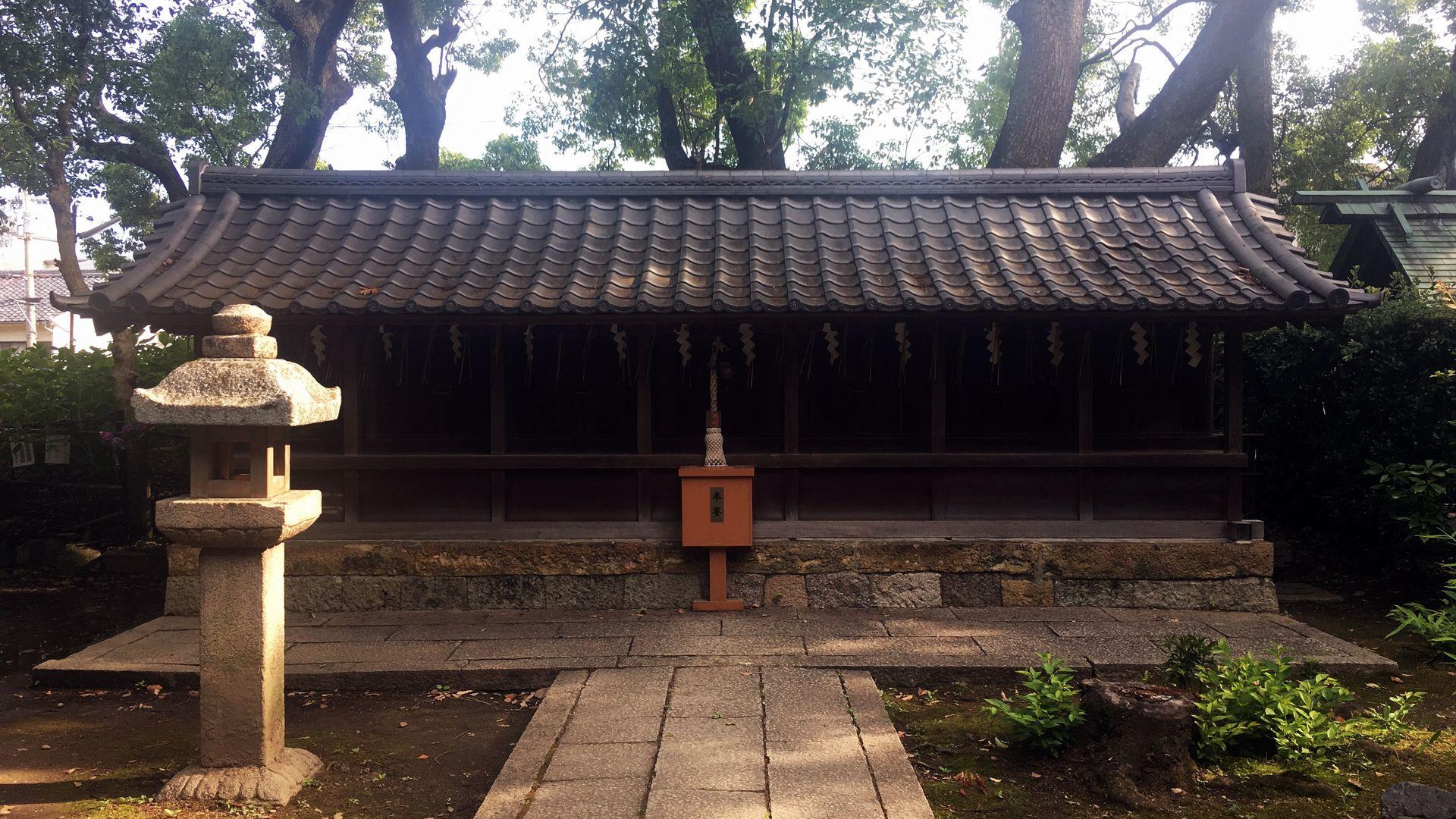 藤森神社の七宮社