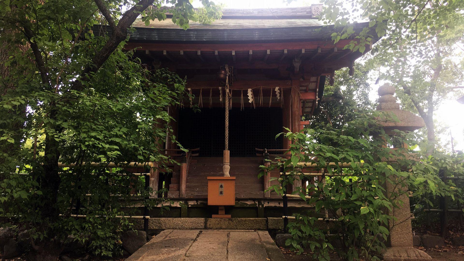 藤森神社の天満宮社