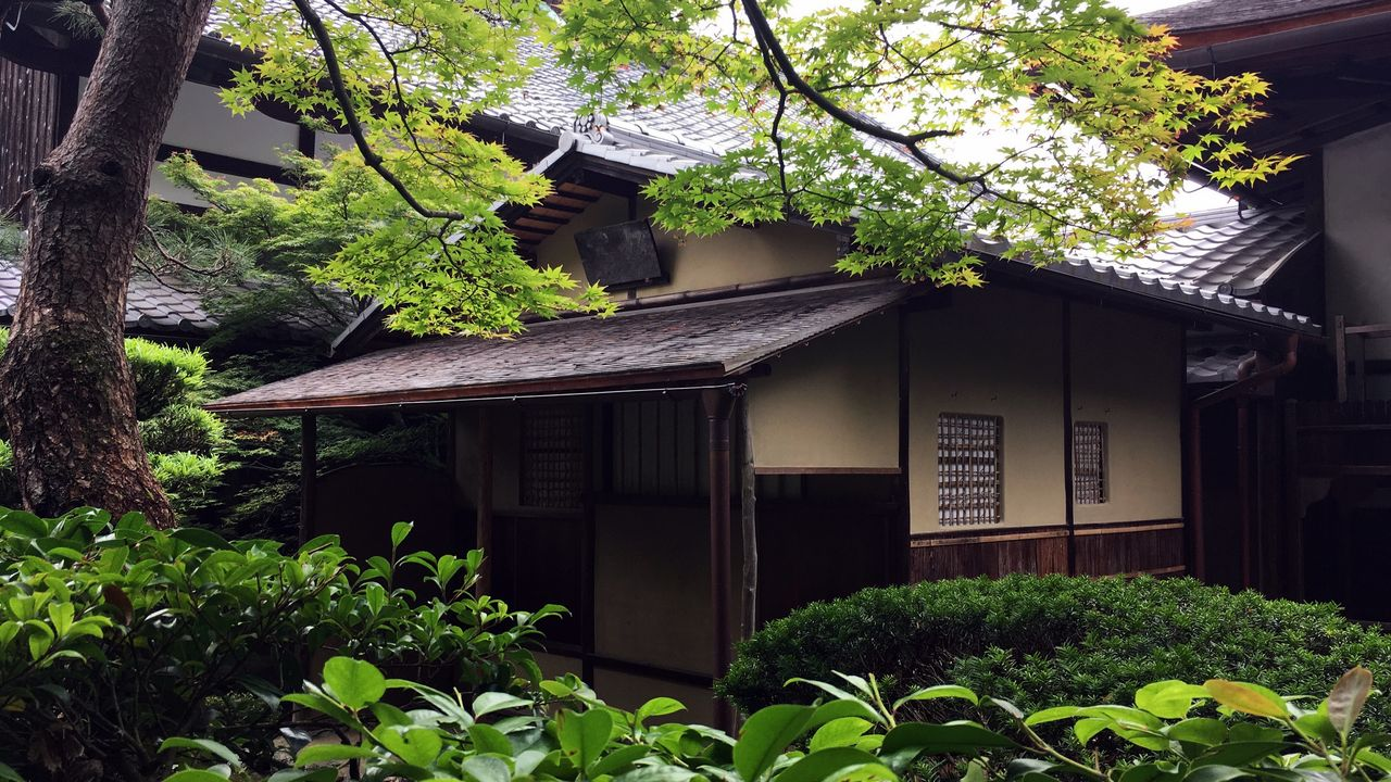 天授庵の茶室「松関の席」