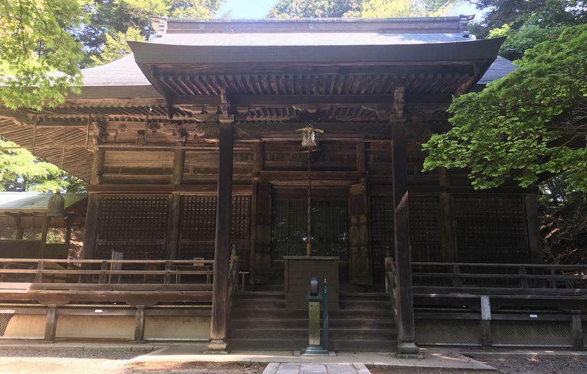 本山寺の本堂