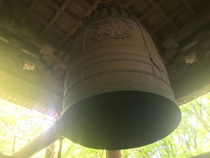 本山寺の鐘楼に吊られている梵鐘