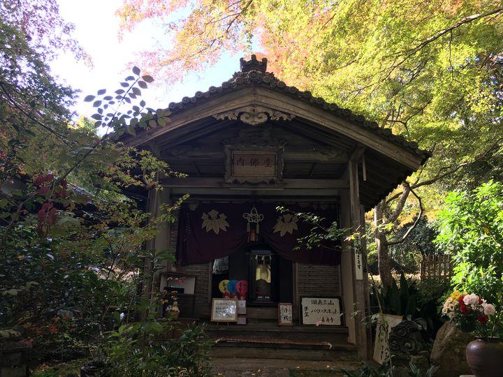 長寿寺の内佛堂