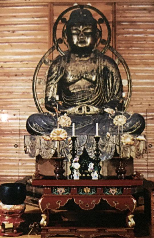 長寿寺の丈六阿弥陀如来坐像