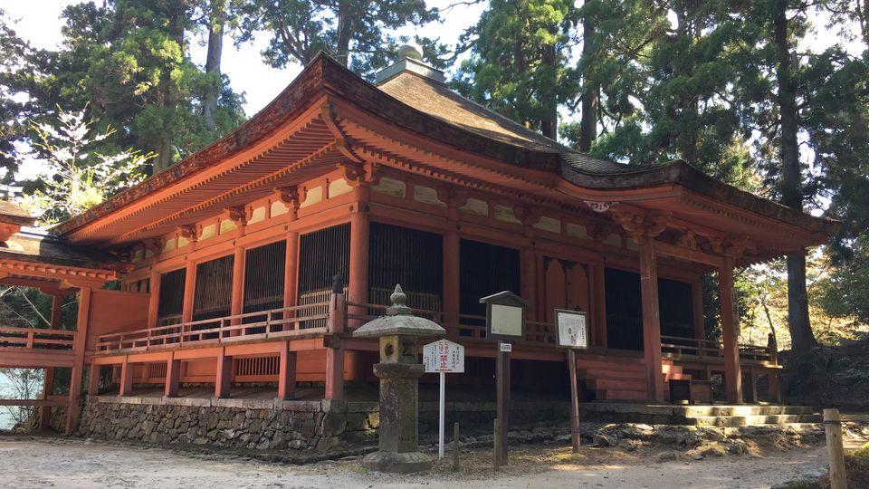 比叡山延暦寺の法華堂