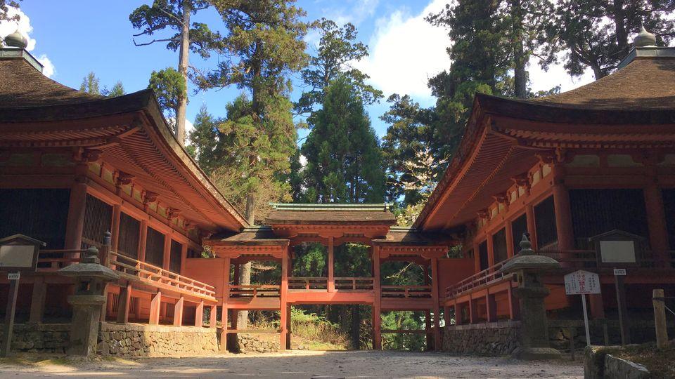 比叡山延暦寺の常行堂と法華堂
