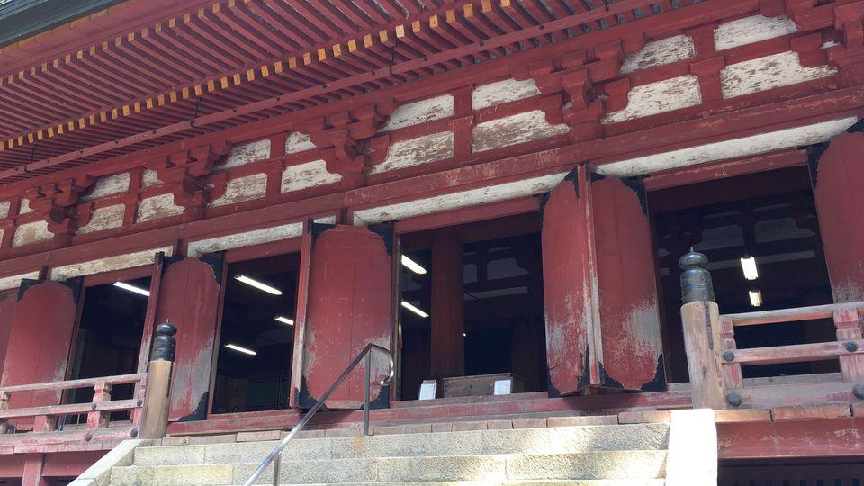 比叡山延暦寺の釈迦堂/転法輪堂