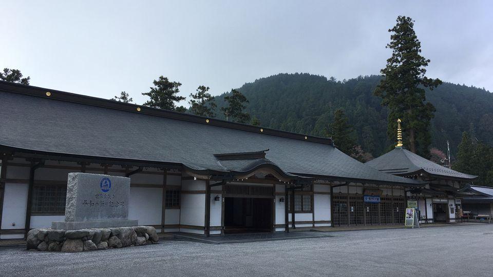 比叡山延暦寺の萬拝堂