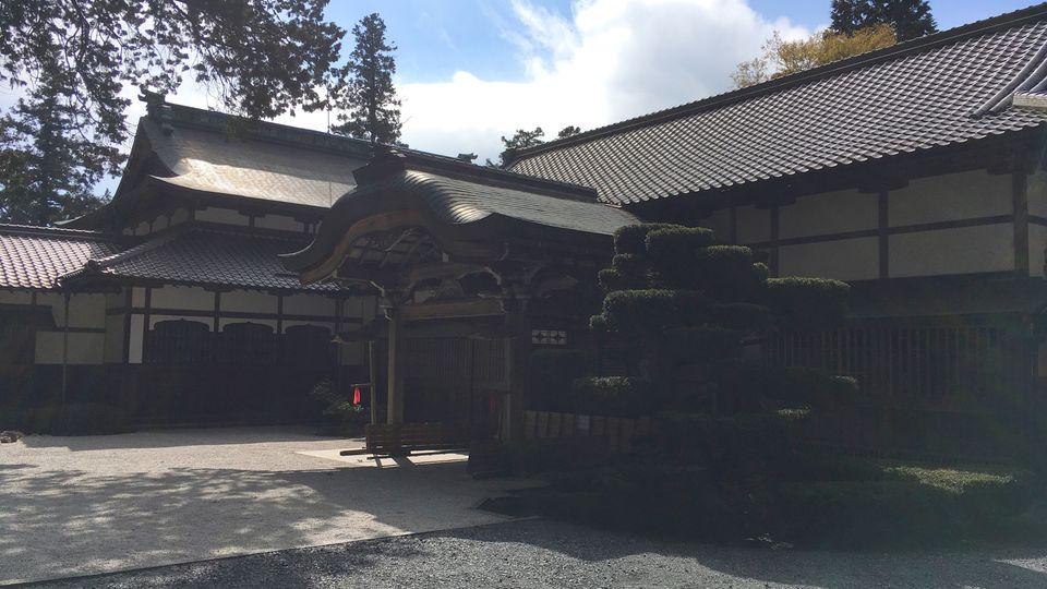 比叡山延暦寺の大書院