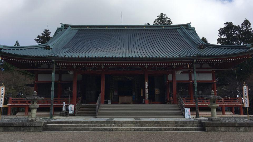 比叡山延暦寺の大講堂