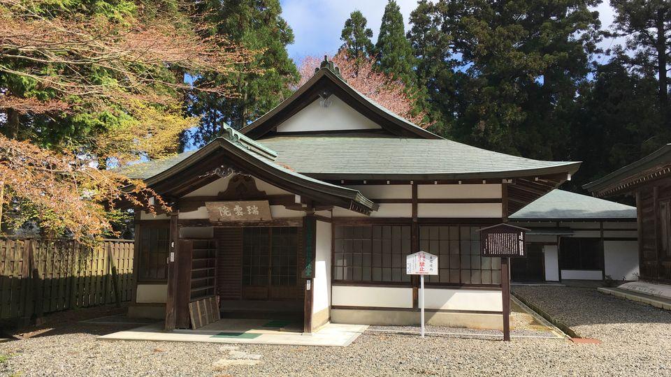 比叡山延暦寺の瑞雲院
