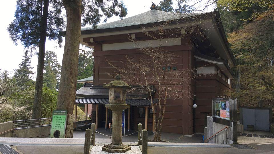 比叡山延暦寺の国宝殿