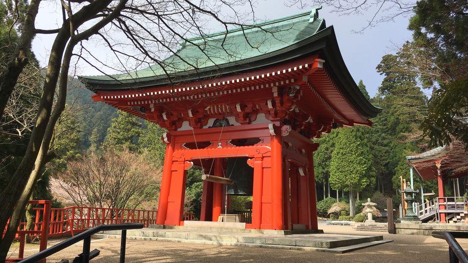 比叡山延暦寺の東塔の鐘楼