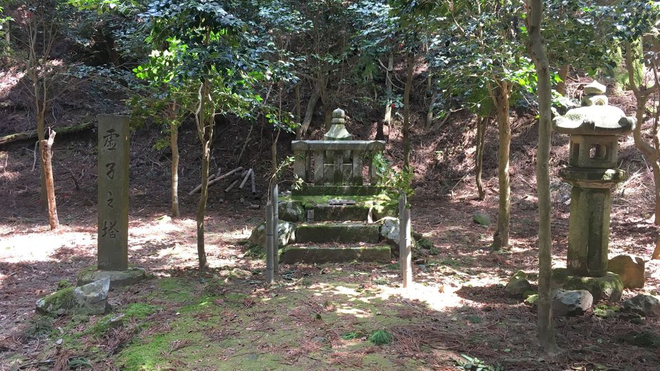 比叡山延暦寺の虚子の塔