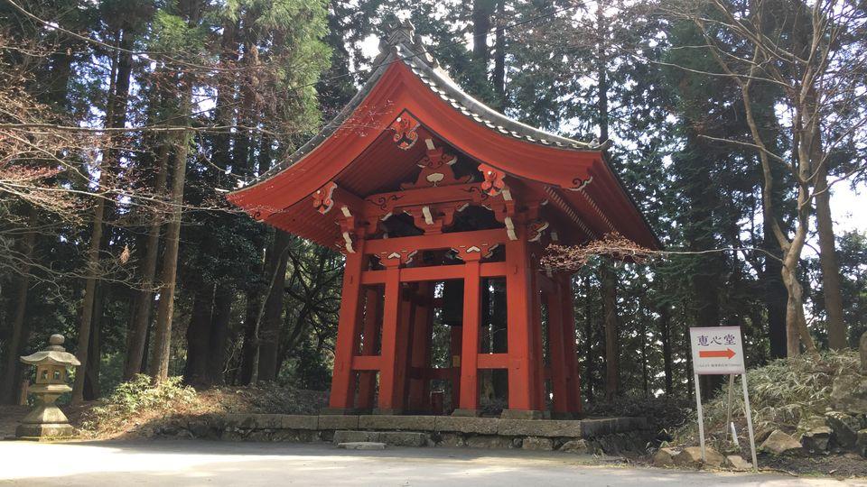 比叡山延暦寺の横川鐘楼