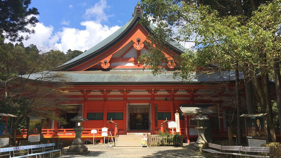 比叡山延暦寺の横川中堂