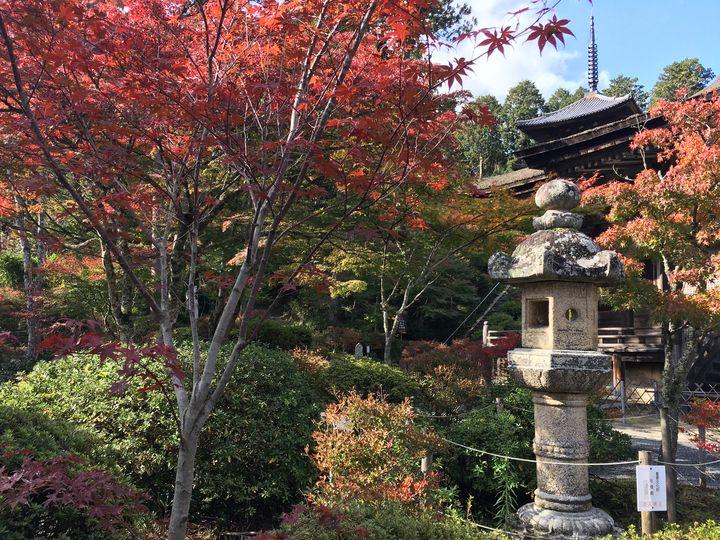 常楽寺の石灯籠