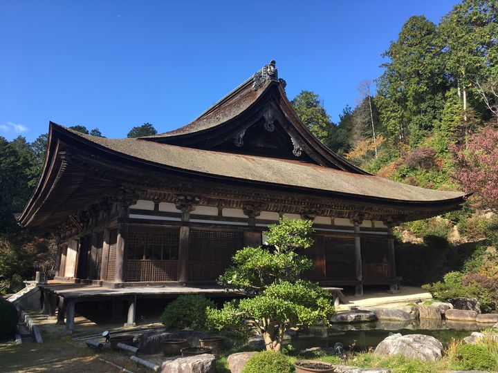 善水寺の本堂(Hon-do hall of Zensui-ji)